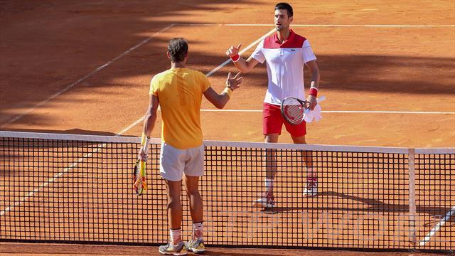 😱🎾 Masters Roma 2019, en directo: Djokovic remonta un 0-6 inicial de Nadal e iguala a un set