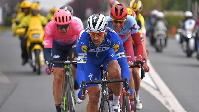 París-Roubaix 2019: El ataque con el que Gilbert empezó a cimentar su victoria