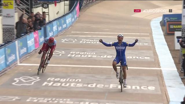 """""""Una volata principesca"""": Philippe Gilbert batte Politt e fa sua la Roubaix!"""