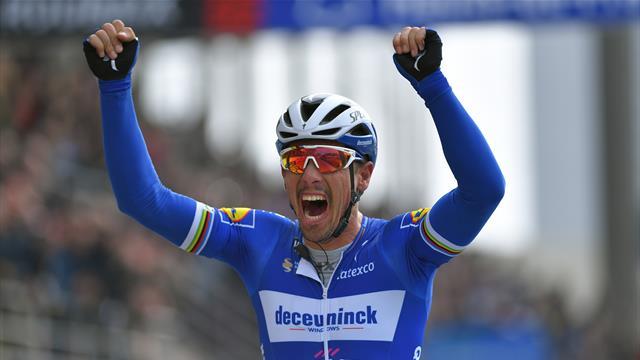 Kampfansage von Gilbert nach Sieg bei Paris - Roubaix