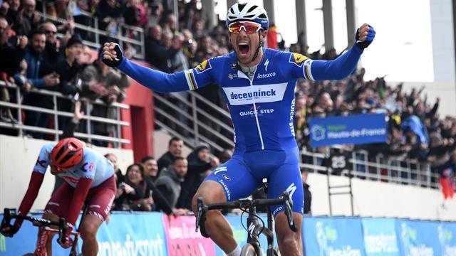 Phenomenal Philippe Gilbert wins Paris-Roubaix