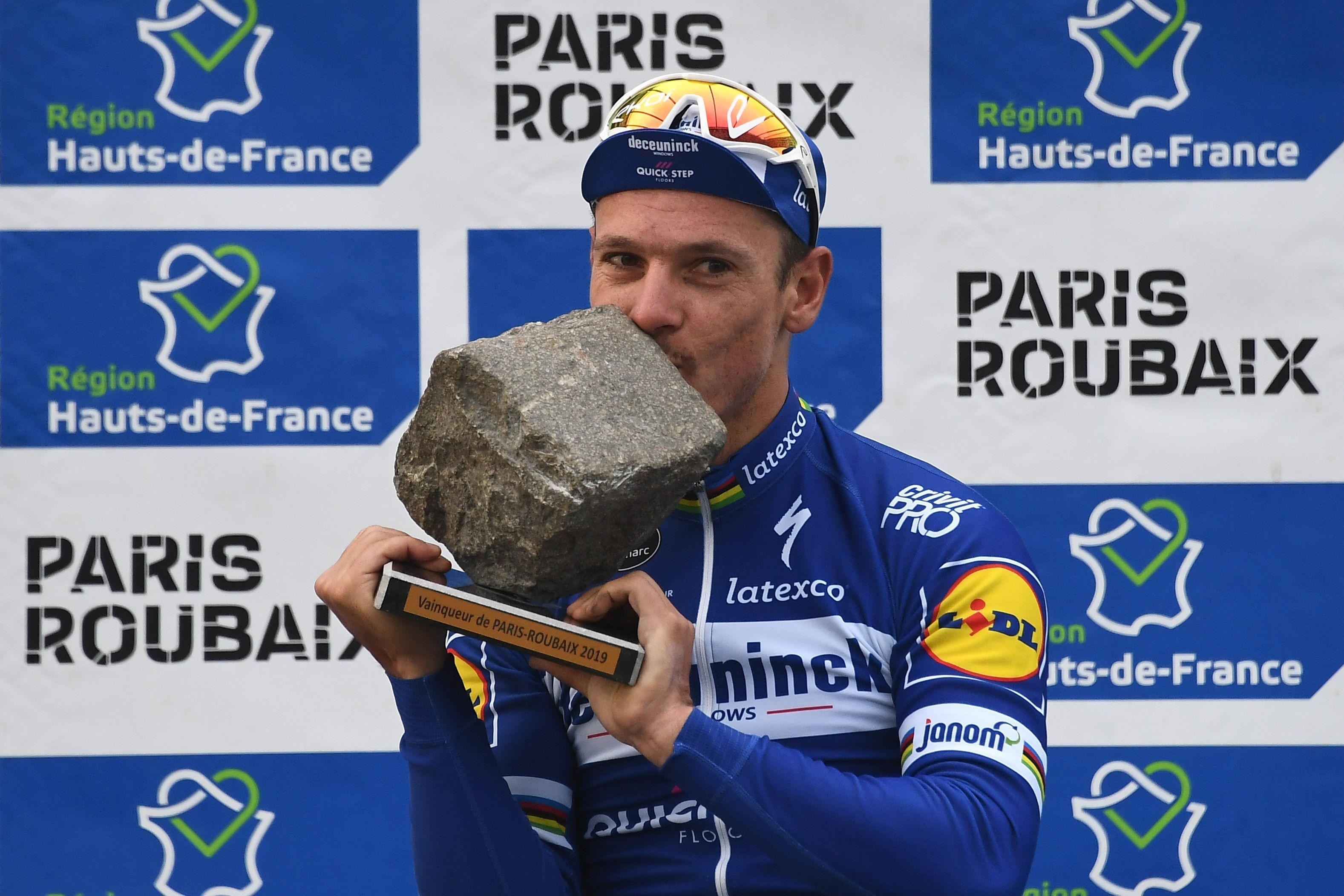 Philippe Gilbert, París-Roubaix