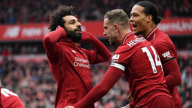 Super Salah strike downs Chelsea as Liverpool regain top spot