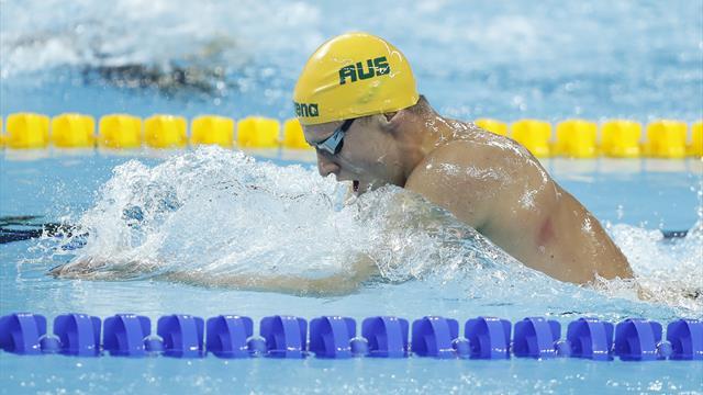 Nordic Swim Tour: Fraser-Holmes se impone en los 400 metros libres