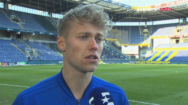 Viktor Fischer om Brøndby-fans: De gjorde det hæderligt