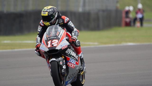 Moto2: Luthi vince davanti a Schrötter e Navarro. Immenso Pasini quarto davanti a Marquez
