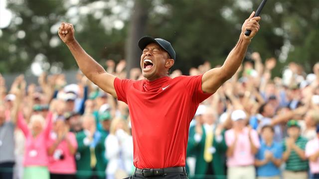 Leyenda Tiger Woods: Conquista el Masters de Augusta 14 años después, el quinto de su carrera