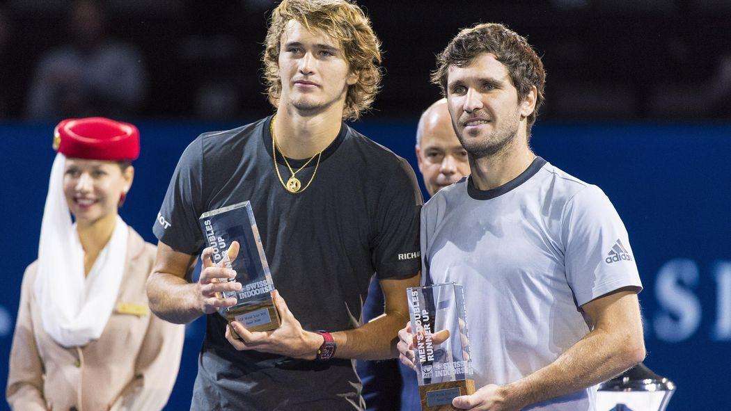 Atp Masters Monte Carlo Zverev Bruder Und Djokovic Bruder Spielen