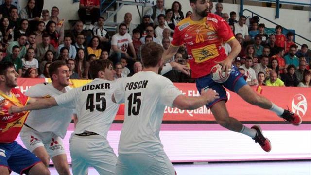 España sufre para ganar a Austria