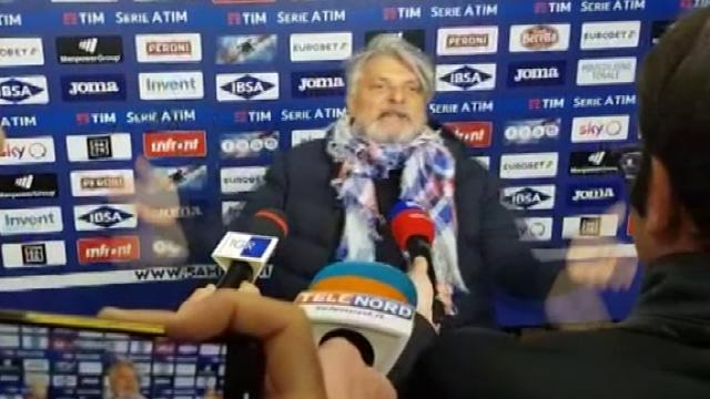 """Ferrero: """"Mio ultimo derby a Genova? Vi attaccate ar c...."""""""