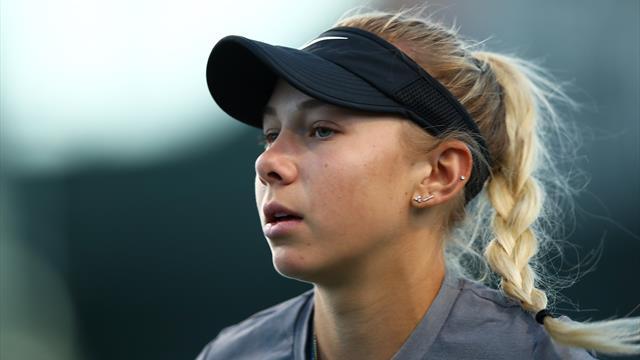 Anisimova, plus jeune Américaine titrée depuis Serena