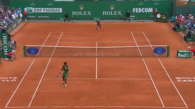 Bruguera-Becker, Nadal-Federer, Monfils-Dolgopolov : Le Top points historique de Monte-Carlo