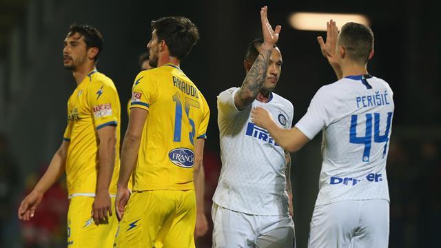 Le pagelle di Frosinone-Inter 1-3: Nainggolan ritrovato, Icardi spento