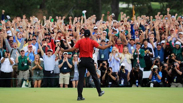 Woods a reconquis le monde du sport... et a mis Trump et Obama d'accord !