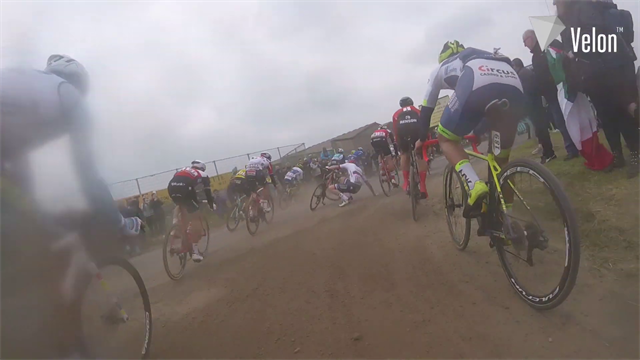 Relive cobbles madness with on-board camera at Paris-Roubaix