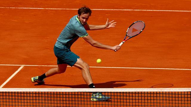 Не пропусти матч Медведева в Монте-Карло на Eurosport 1