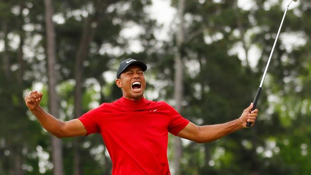 Golf: Woods wieder die Nummer sechs der Welt