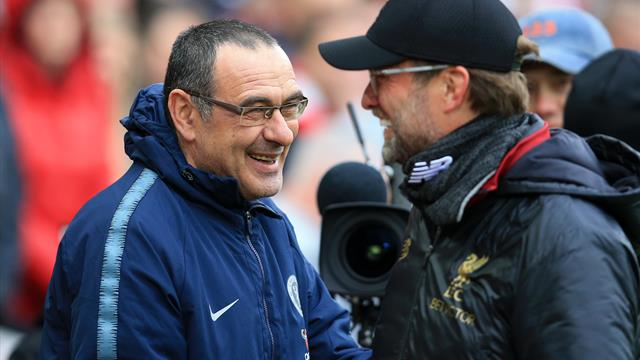 How on earth can Sarri be happy with a 2-0 defeat?