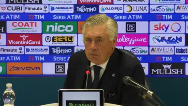 """Ancelotti: """"Non possiamo sempre parlare di sfortuna, qualcosa manca"""""""