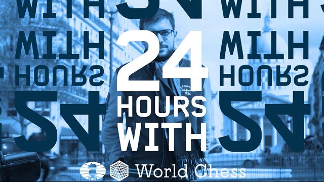 24 heures avec Maxime Vachier Lagrave, n°6 mondial aux échecs