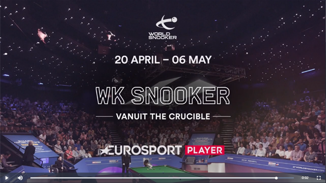 WK Sheffield | Het WK Snooker op Eurosport