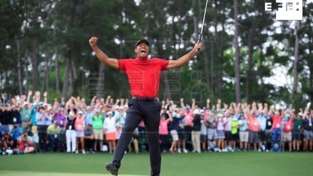 Woods sube seis puestos tras ganar el Masters de Augusta, Johnson nuevo líder