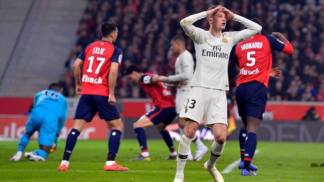 Episches PSG-Debakel im Video - Lille düpiert Mbappé und Co.