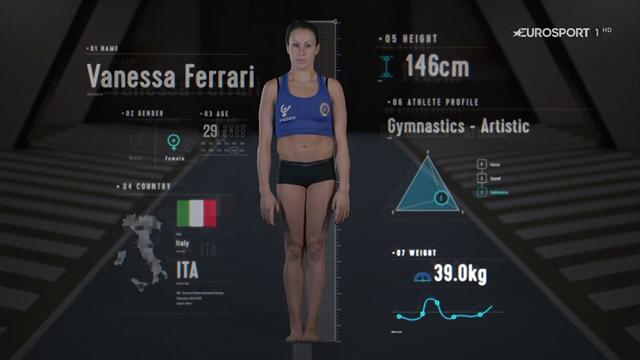Vanessa Ferrari, l'anatomia di una ginnasta