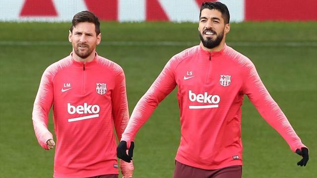 Pedro y Luis Suárez, los compañeros favoritos de Messi en el Barça