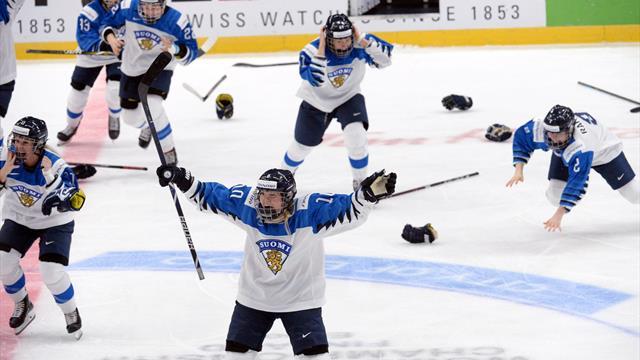 Eishockey-WM: Umstrittener Videobeweis beendet finnischen Jubel