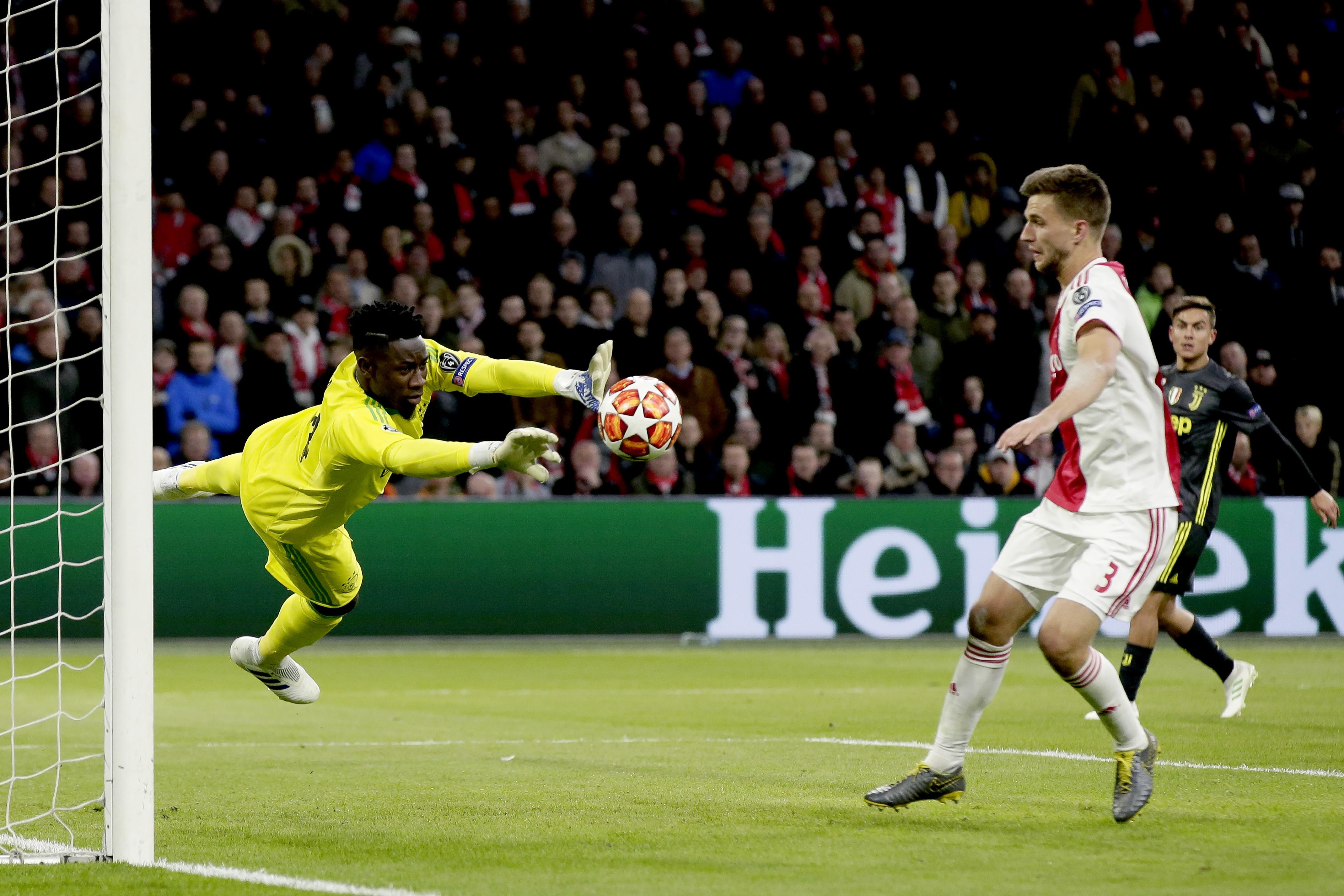 Frenkie de Jong touché aux ischios — Ajax Amsterdam