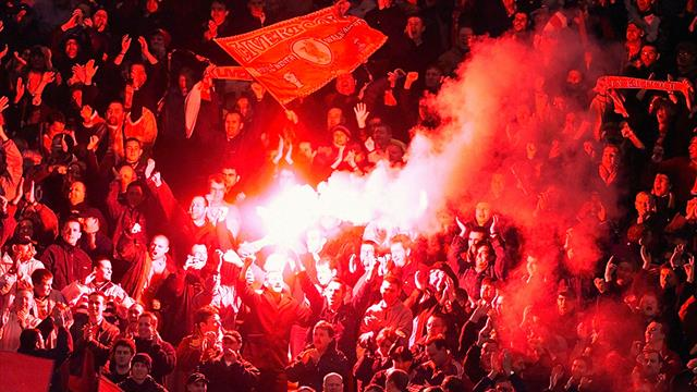 Police investigate after flare thrown in Liverpool's win over Chelsea