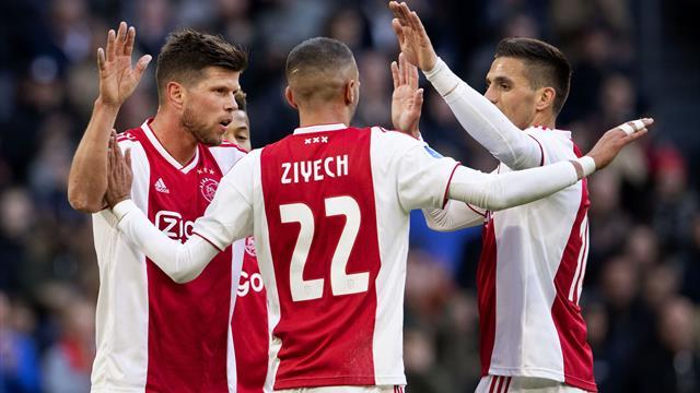 Schöne, Ziyech, Blind… L'Ajax, ce n'est pas qu'une classe biberon