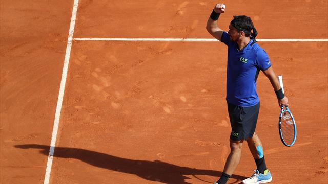 Fognini passa il turno per il forfait di Simon, Nadal spazza via Bautista Agut