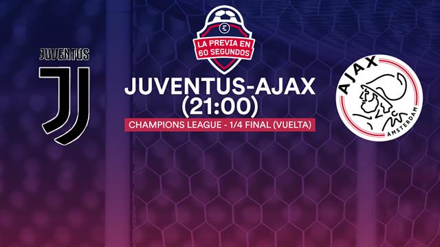 """La previa en 60"""" del Juventus-Ajax: El momento de Cristiano (21:00)"""