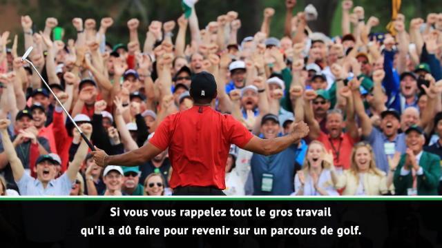 """Monte-Carlo - Nadal """"très ému"""" par la victoire de Woods au Masters"""