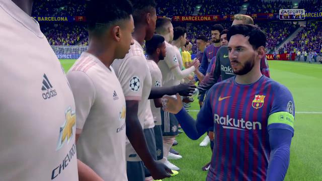 Champions Virtual: Así ha quedado el Barça- Manchester United