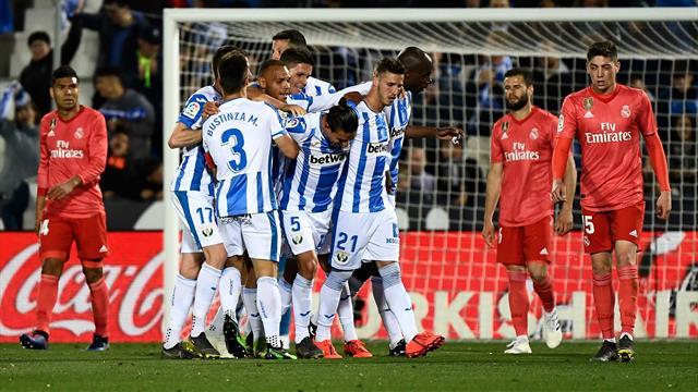 ⚽ El Real Madrid de Zidane se la pega en Butarque y sigue sin ganar fuera (1-1)