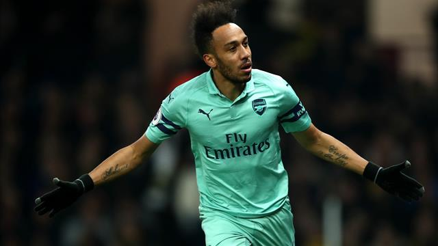 Arsenal move fourth with win at 10-man Watford