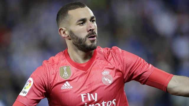 Benzema rescues point as Real struggle at Leganes