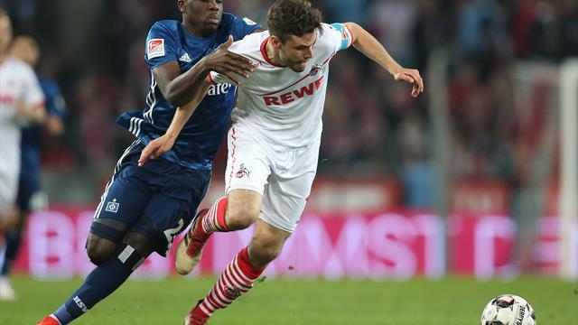 Köln verschenkt Sieg im Spitzenspiel gegen Hamburg