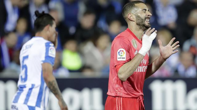 LaLiga, Leganés-Real Madrid: Siguen con la torrija (1-1)