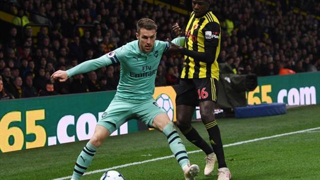 El Watford se inmola en un minuto y el Arsenal se mete en 'Champions'