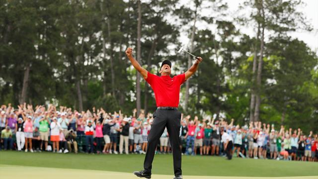 """""""Ein wirklich großer Champion"""": Trump, Obama und Co. würdigen Woods"""