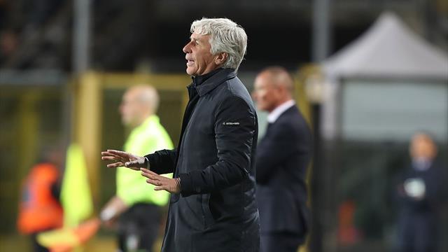 """Gasperini: """"Il nostro è stato un assalto, ma capitano partite così. Europa? Restiamo in corsa"""""""