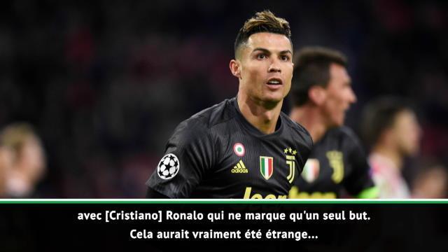"""Quarts - Allegri sur Ronaldo : """"Nous sommes vraiment chanceux de l'avoir"""""""