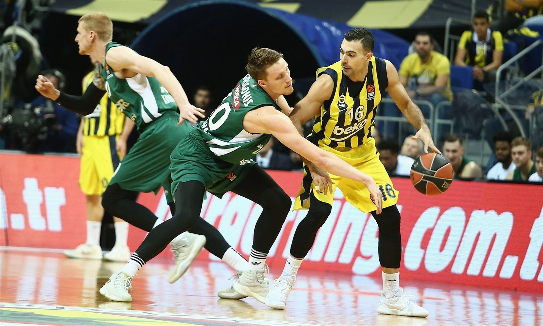 Kostas Sloukas (Fenerbahçe) vs Zalgiris Kaunas
