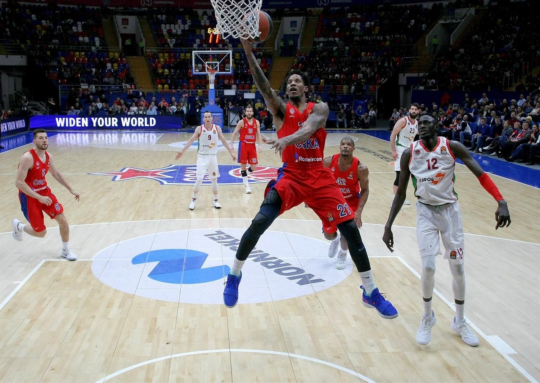 Will Clyburn (CSKA Moskova) vs Baskonia