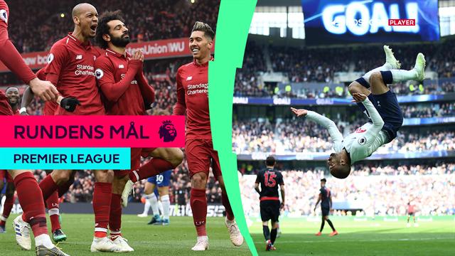 Salahs tordendrøn, hattrick fra Lucas og Aubameyangs freak-kasse: Se alle rundens mål