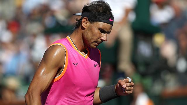"""Nadal : """"C'est encore une sorte de come-back"""""""